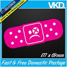 Drift Damage Bandaid Sticker/ Decal - Car Turbo Bomb JDM ILLEST FATLACE 4x4