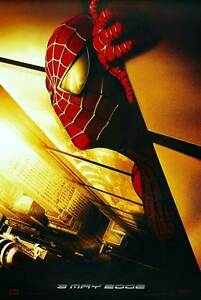"""SPIDER-MAN Movie Poster [Licensed-NEW-USA] 27x40"""" Theater Size (Twin Towers)"""