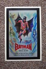 Batman 60s Lobby Card Movie Poster #4 Adam West Burt Ward 12 x 18 White