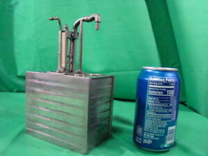 Vintage Antique Salesman Sample Bowser Oil Can Pump Gas Station Advertising