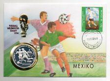 Numisbrief Korea 500 Won 1994 Fußball Weltmeisterschaft  Mexico