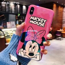 IPHONE X XS Case Cover MINNIE MICKEY MOUSE Walt Disney Phone Case