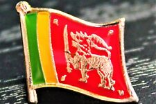 SRI LANKA Sri Lankan Ceylon Metal Flag Lapel Pin Badge *NEW*