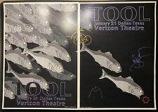 TOOL Band Signed Autographed Poster Set 2012 Dallas, TX 2 Night ADAM JONES 🔥🔥