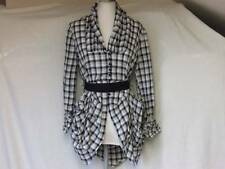New Look Checked Long Sleeve Casual Tops & Shirts for Women