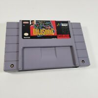 WildSnake Super Nintendo SNES Clean Game