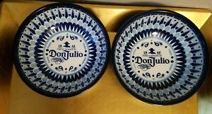 "Don julio 1942 Tequila Guacamole/salsa Bowl 6"" ,Set Of 2"