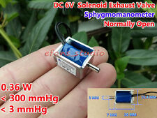 DC 6V Micro Mini Electric DC Solenoid Valve Exhaust Valve Blood Pressure Monitor