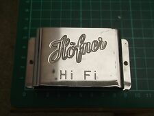 original HOFNER Hi-Fi guitar bridge COVER/PALM REST 1960's/1970's - small