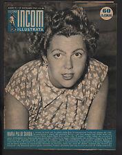 SETTIMANA INCOM 38/1953 FERZETTI ELOISA CIANNI MISS EUROPE CENTRALE EMILIA (PC)