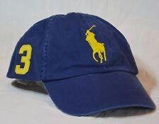 Polo Ralph Lauren Cap Big Pony Navy Ballcap Hat NWT $50