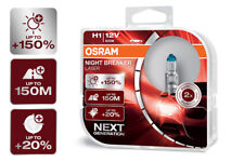OSRAM Night Breaker® LASER NEXT GENERATION H1 Sockel +150% mehr Sicht DuoBox