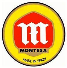 Autocollant MONTESA 8cm cota 25 49 74 123 200 242 247 248 250 348 349 4rt trial