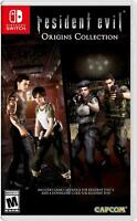 Resident Evil Origins Collection Nintendo Switch Brand New Sealed
