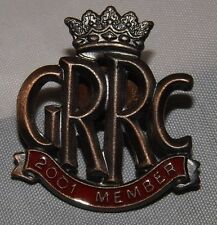 Goodwood carreras de carretera 2001 miembros del club grrc Esmalte Pin Insignia FOS Revival 250 Gto