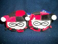 "2 Kawaii Cubes Plush Toys 2.5""  * Harley Quinn * NEW WITH TAGS"