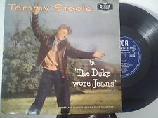 LP 25 cm TOMMY STEELE-THE DUKE WORE JEANS-IT'S ALL HAPPENING + 7
