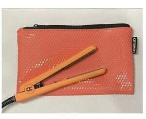 Amika - Hair Staightener - Mini Styler With Storage Pouch - US Plug - Coral