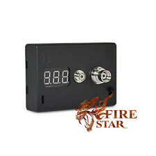 New Digital Ohm Meter Resistance Reader Voltage Battery Tester 510 Vape Tester