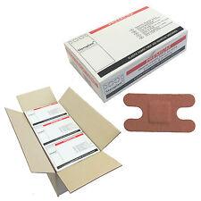 12 Box Case of 50 Steroplast PREMIUM Tessuto Sterile Heavy Duty Nocca Cerotti