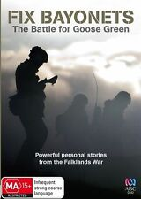 Fix Bayonets: The Battle for Goose Green - DVD Movie - Documentary REGION 4