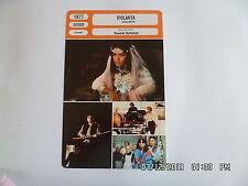 CARTE FICHE CINEMA 1977 VIOLANTA Lucia Bose Maria Schneider Lou Castel