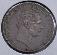 Germany Prussia silver double 2 thaler 3 1/2 gulden coin 1846 XF - 37.12 grams
