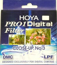 Original Hoya Pro1 DMC Digital 67mm Close Up +3 (Makro) OBJEKTIV in UK!