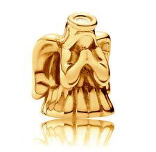 Genuine PANDORA Divine Angel Charm 791770 14K Gold Vermeil Plated