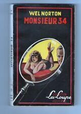 FREDERIC DARD-WEL NORTON-MONSIEUR 34-LA LOUPE 1951