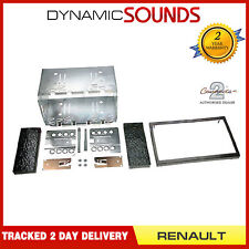 CT23RT02A Car CD Stereo Double Din Fascia Panel Fitting Kit For Renault Megane