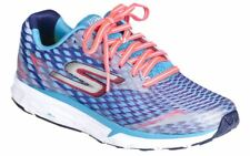 Skechers Go Run Forza 2 Womens Blue Support Running Sports Shoes Trainers PUMPS UK 8