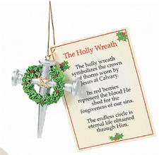 1 Cross of Nails Christmas Ornament ***Free S/H when u buy 6 items from my store