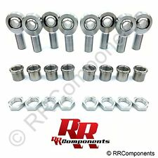 1-1/4 x 1 Bore Chromoly 4-Link Rod Ends Kit, Heim Joints (Fits 1.5 ID Tube) BB