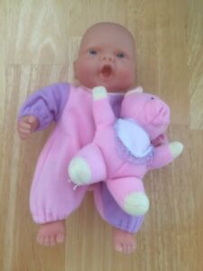 berenguer doll 8 Inch Pig Toy Preowned
