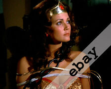 LYNDA CARTER as WONDER WOMAN chained and tied up 8X10 PHOTO #1983