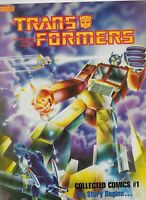 THE TRANSFORMERS #1 NM- THE STORY BEGINS (1985) MARVEL BOOKS - COLLECTED COMICS