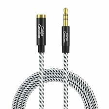 3.5Mm Headphone Extension Cable, Cablecreation 3.5Mm Male To Female Stereo Audio