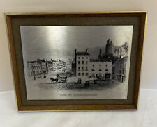 Vintage High Street, Haverfordwest Etching - Connoisseur Steel Reproductions D3