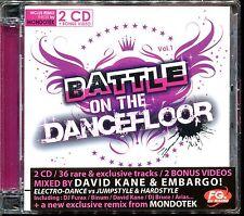 BATTLE ON THE DANCEFLOOR VOL.1 FG RADIO - 2 CD COMPILATION NEUF ET SOUS CELLO