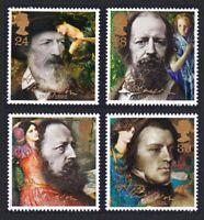 Great Britain Death Centenary of Lord Tennyson 4v MNH SG#1607-1610 SC#1441-1444