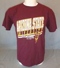 Arizona State University ASU Sun Devils Maroon T-Shirt Size Large