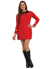 "Star Trek Red Womens Costume,Medium,(USA 10 - 14), BUST 38 - 40"", WAIST 31 - 34"""