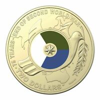 75th Anniversary of End of Second World War - 2020 $2 Two Dollar Coin