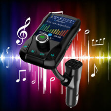 Car bluetooth FM Transmitter MP3 Player Hands free Radio Adapter Kit USB Charger