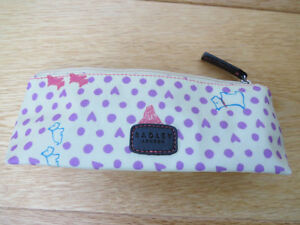 Radley Heart Hibbert Dog Print Pencil Case/Glasses/Cosmetic *NOW REDUCED*