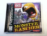 Monster Rancher - Sony PlayStation 1 - 1997 - Complete - Game, Case & Manual