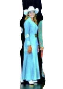 Rodeo Queen Modeling Dress
