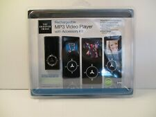 The Sharper Image Rechargeable Mp3 Video Player With Accessory Kit