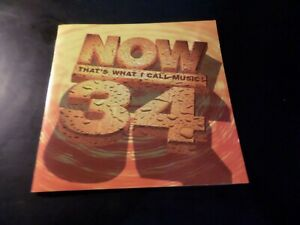 CD DOUBLE ALBUM - NOW THATS WHAT I CALL MUSIC 34